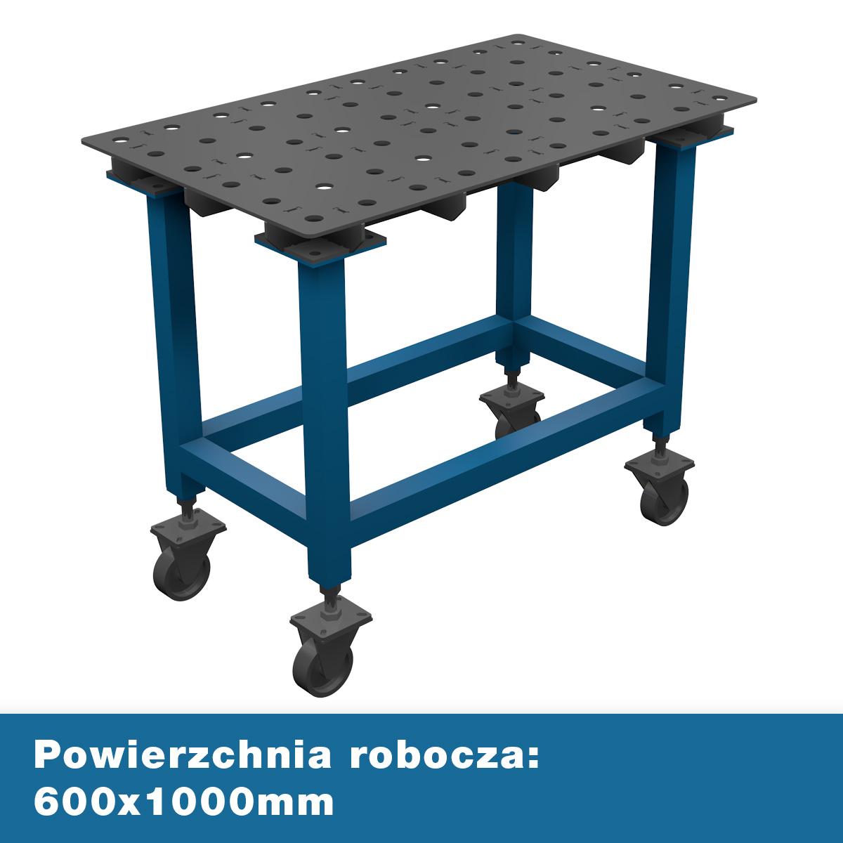 AASCO E600X1000F28JP - stół montażowo spawalniczy